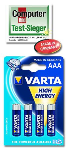4 AAA Baterie