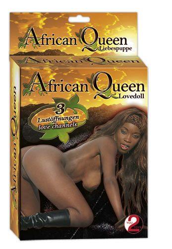 Nafukovací panna Africká královna