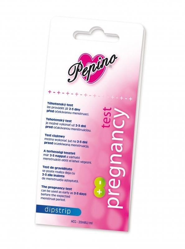 Těhotenský test - Pepino